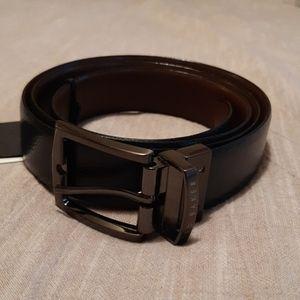 Men's Ted Baker Reversible Leather Belt